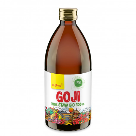Goji šťáva Wolfberry BIO 500 ml