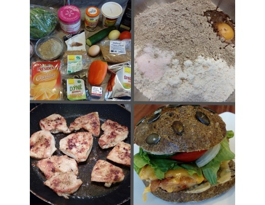 Recept: Chickenburger